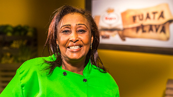 image of female chef - Amina Hussein