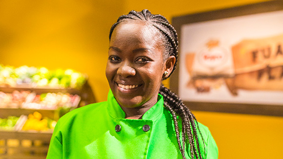 image of female chef - Angela Kisoryo