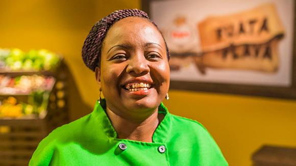 female chef image- Janet Okello