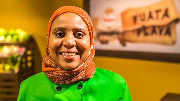 image of female chef - Sada Nyanje